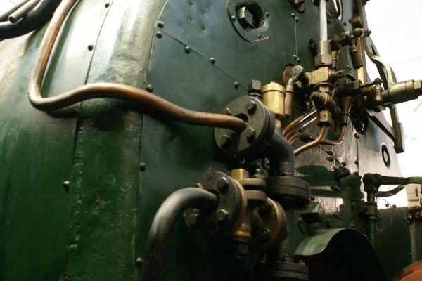Печатные машинки, арифмометры, трамваи и паровозы. Музей техники в Будапеште и просто в городе. (Фото 8)