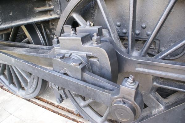 Печатные машинки, арифмометры, трамваи и паровозы. Музей техники в Будапеште и просто в городе. (Фото 17)