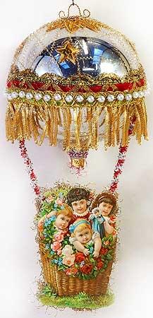 Викторианские Елочные Игрушки (Фото 10)