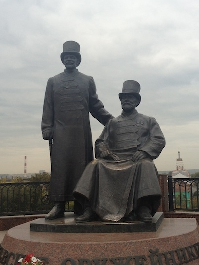 Ижевск и Сарапул с точки зрения стимпанка