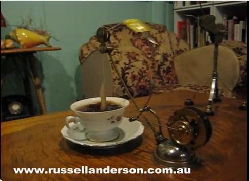 Приспособление для настоящего стимпанк чаепития steampunk tea making