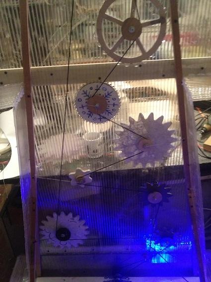 Новогодние Волошебные Часы (Фото 5)