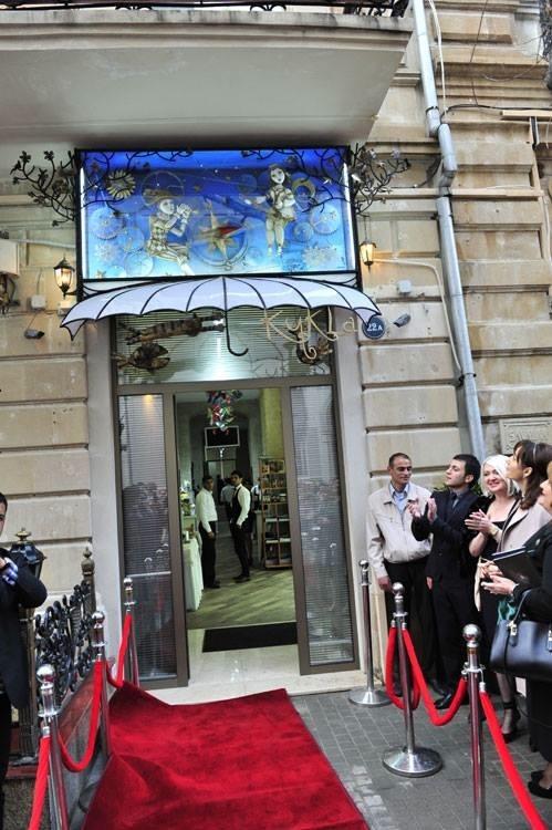 """""""Восток- Запад"""" витрина галереи,Баку. (Фото 25)"""