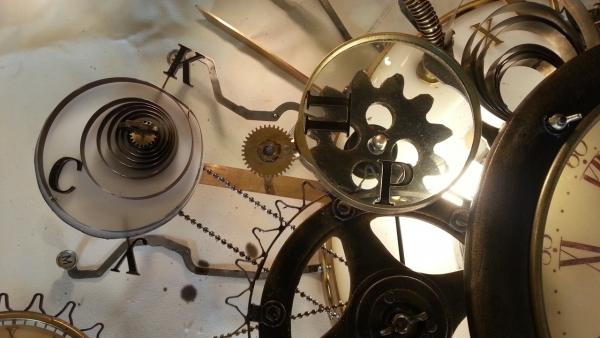 Люстра-часы (Фото 14)