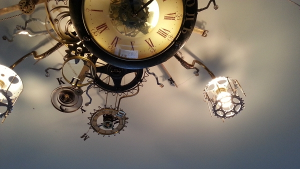 Люстра-часы (Фото 20)