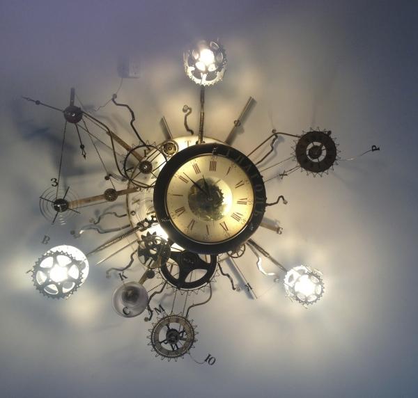Люстра-часы (Фото 23)