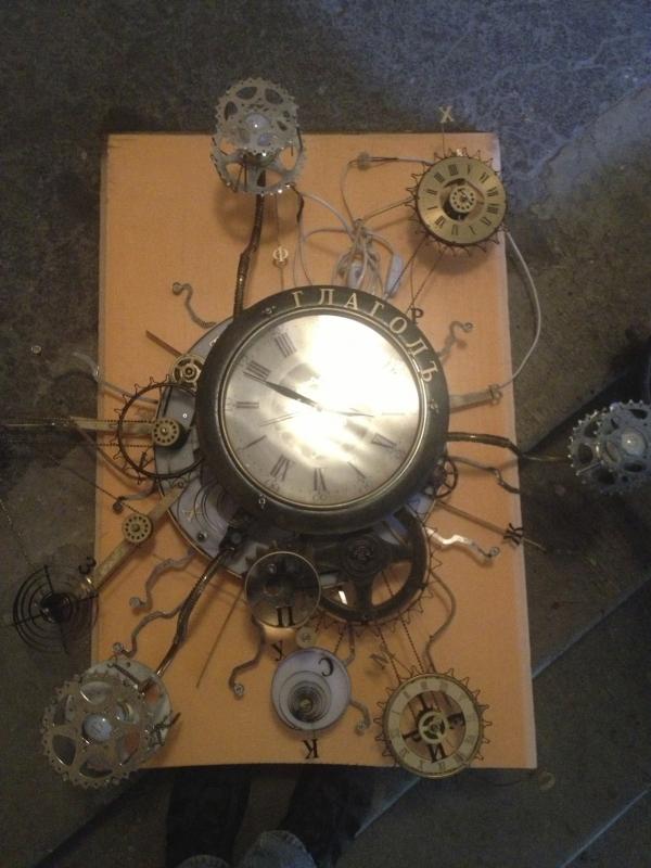 Люстра-часы (Фото 15)