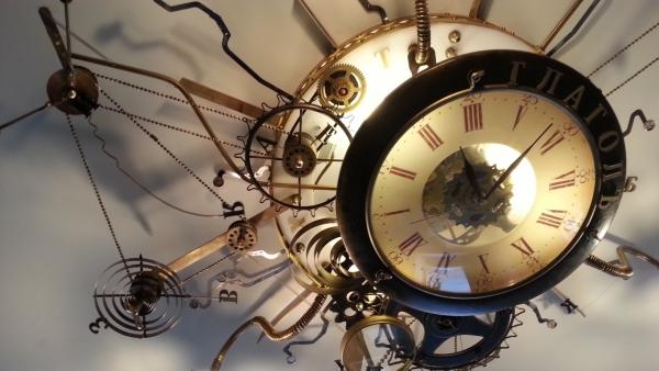 Люстра-часы (Фото 19)