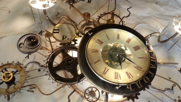 Люстра-часы (Фото 13)