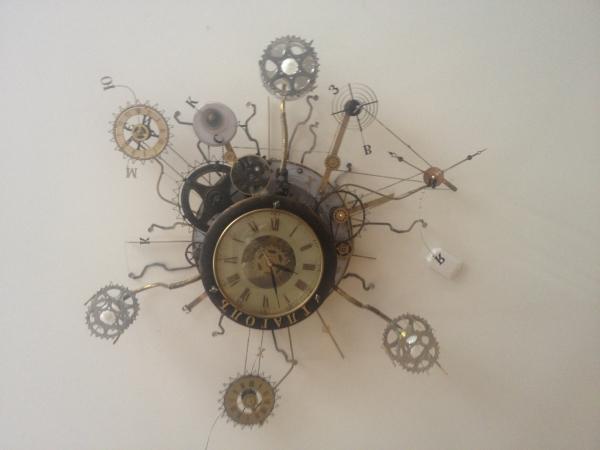 Люстра-часы (Фото 26)