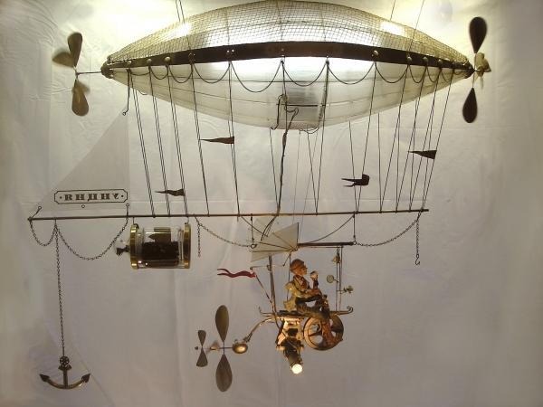 Дирижабли и Воздушные шары....... (история одного стимпанк проекта) (Фото 4)