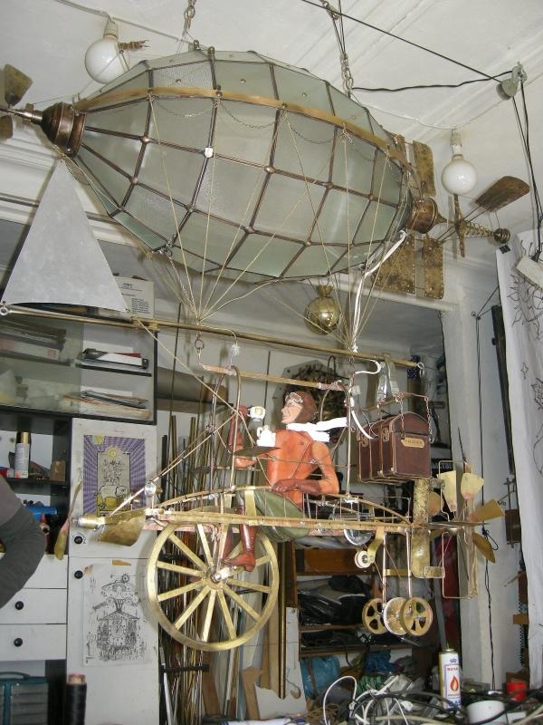 Дирижабли и Воздушные шары....... (история одного стимпанк проекта) (Фото 32)