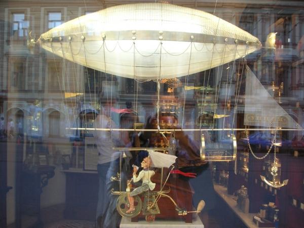 Дирижабли и Воздушные шары....... (история одного стимпанк проекта) (Фото 3)