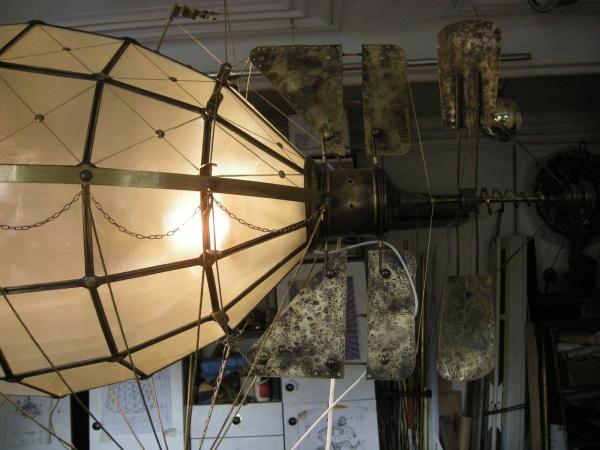 Дирижабли и Воздушные шары....... (история одного стимпанк проекта) (Фото 28)