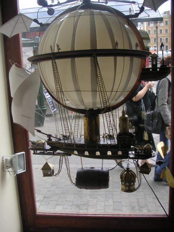 Дирижабли и Воздушные шары....... (история одного стимпанк проекта) (Фото 13)