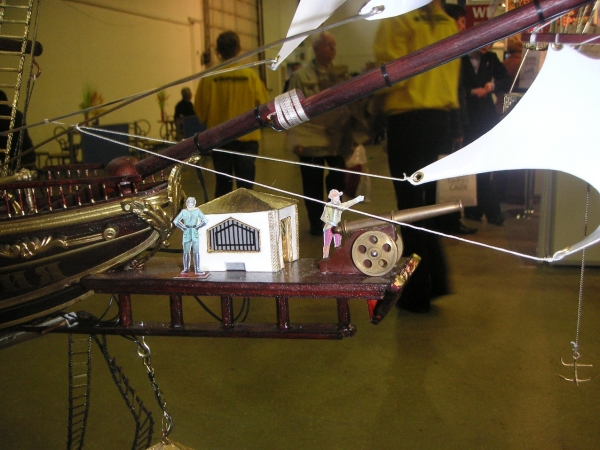 Дирижабли и Воздушные шары....... (история одного стимпанк проекта) (Фото 14)