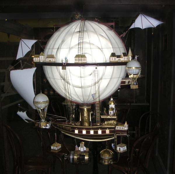 Дирижабли и Воздушные шары....... (история одного стимпанк проекта) (Фото 12)