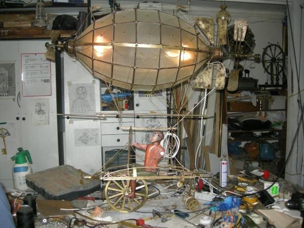 Дирижабли и Воздушные шары....... (история одного стимпанк проекта) (Фото 27)