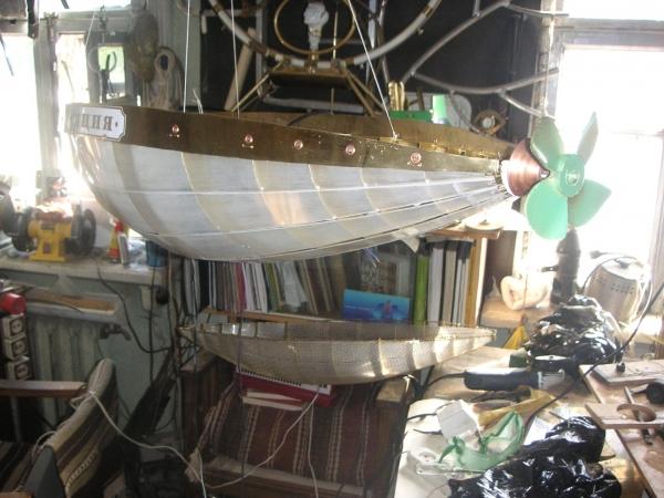 Дирижабли и Воздушные шары....... (история одного стимпанк проекта) (Фото 11)