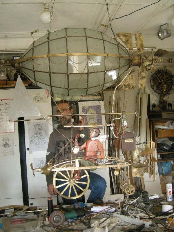 Дирижабли и Воздушные шары....... (история одного стимпанк проекта) (Фото 31)
