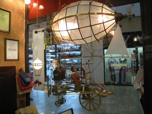 Дирижабли и Воздушные шары....... (история одного стимпанк проекта) (Фото 33)