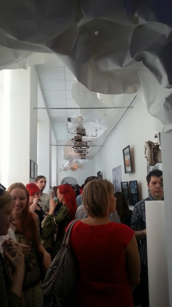 Выставка СПБ.  Стимпанк или ПАРаллельная реальность ОТКРЫЛАСЬ!