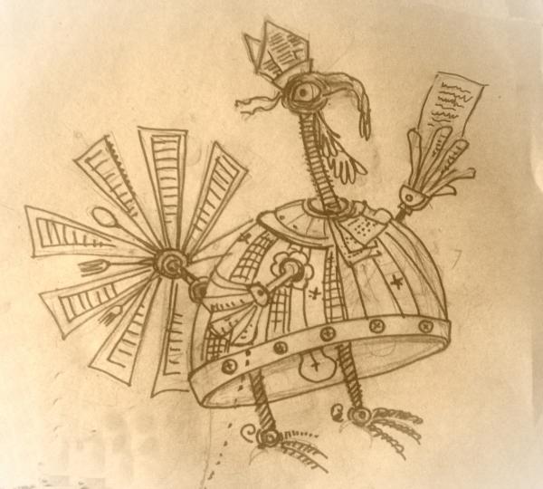 Эскизы к сп. Путешествие в страну Джамблей или сказки дедушки Лира
