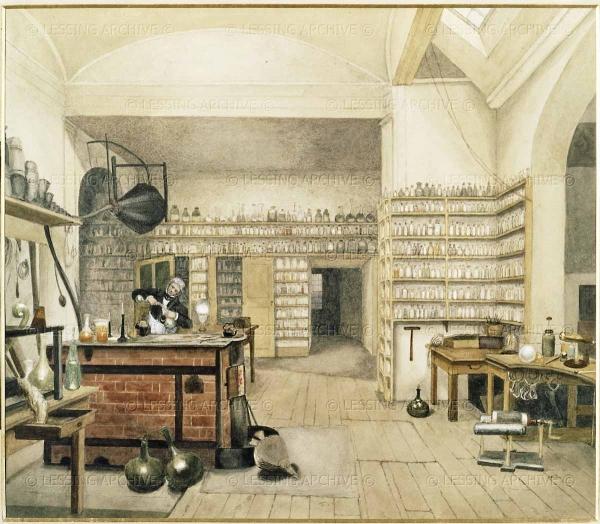 Фармацевтика позапрошлого столетия