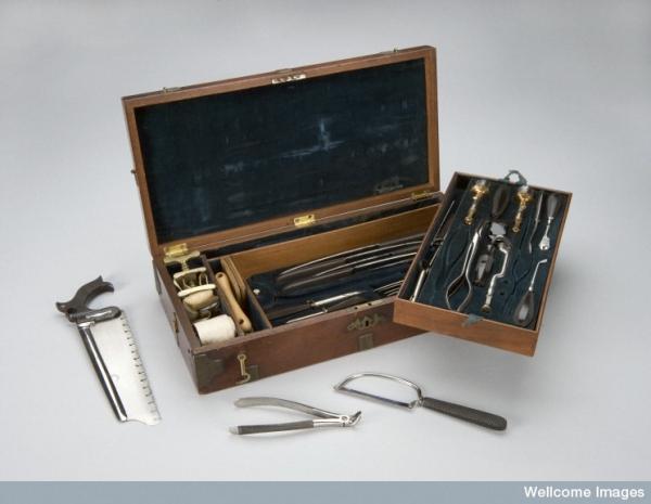 еще о врачебной теме 19го столетия. Хирургия. (Фото 21)