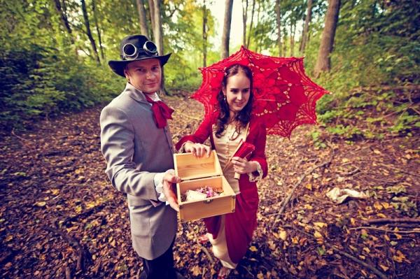 Свадьба в стиле стимпанк! Трафик. (Фото 27)