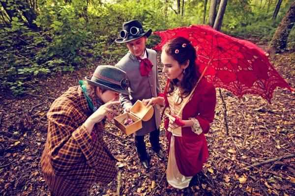 Свадьба в стиле стимпанк! Трафик. (Фото 28)