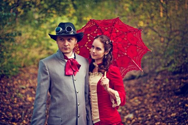Свадьба в стиле стимпанк! Трафик. (Фото 43)