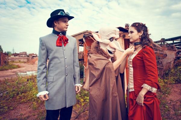 Свадьба в стиле стимпанк! Трафик. (Фото 50)