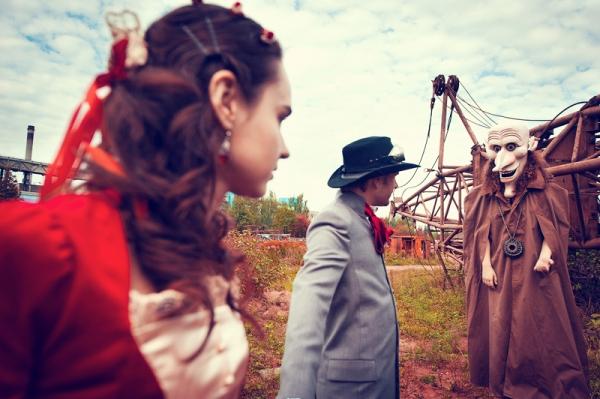 Свадьба в стиле стимпанк! Трафик. (Фото 14)