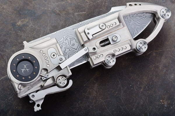 Очередной стимпанк нож (Фото 2)