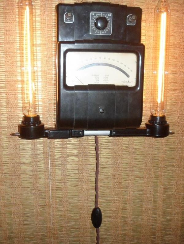 дизельпанк лампа