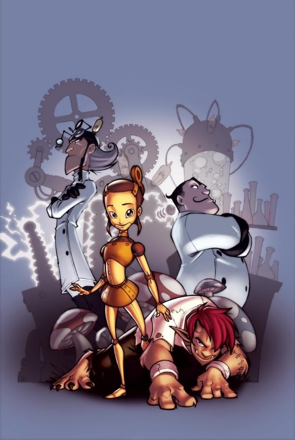 The Clockwork Girl - или когда мечты безумных ученых сбываются =)