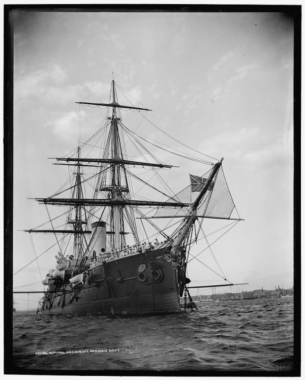 Русский флот - фото 1893г.