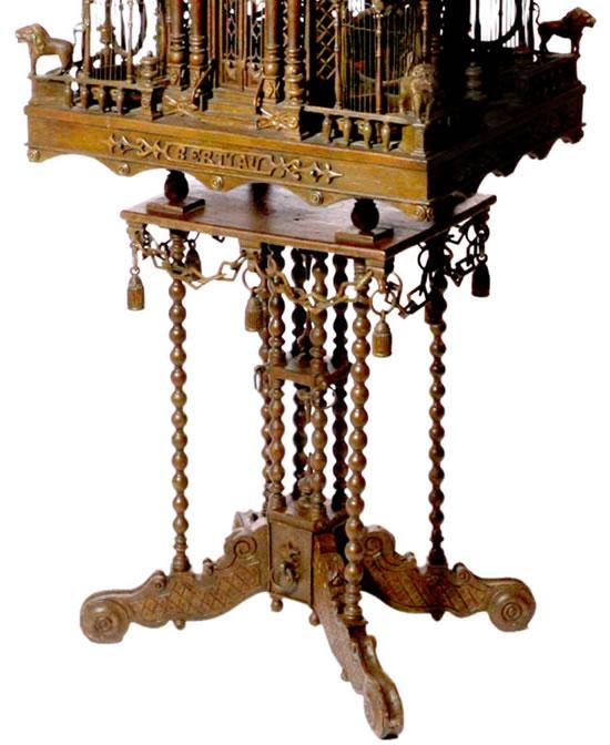 Викторианский особняк для попугайчиков (Фото 3)