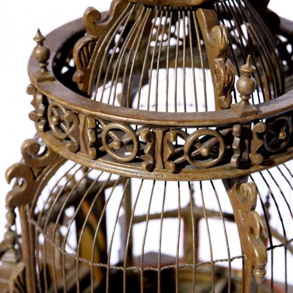 Викторианский особняк для попугайчиков (Фото 5)