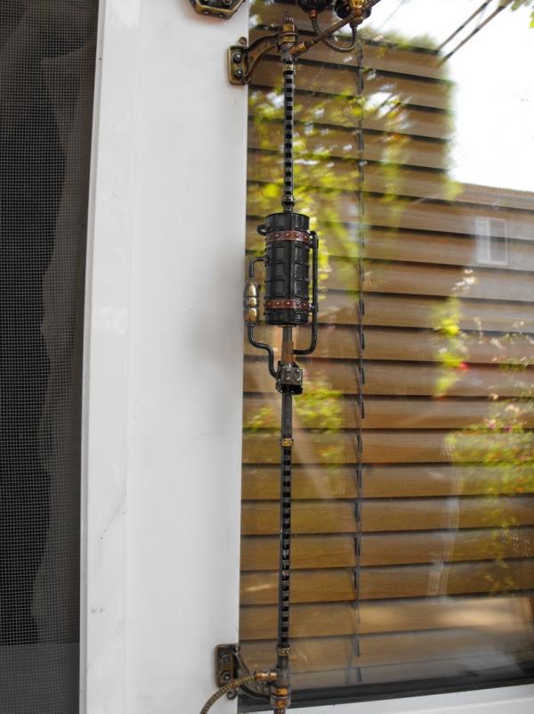 Термометр наружный или первый шаг к созданию домашнего гидрометеорологического центра. (Фото 52)