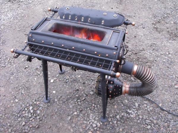 Малый атанор - мобильная алхимическая печь.