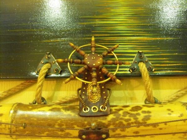 Рама для картины - портал в мир стимпанка. (Фото 58)