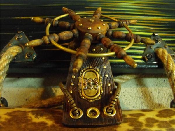 Рама для картины - портал в мир стимпанка. (Фото 51)