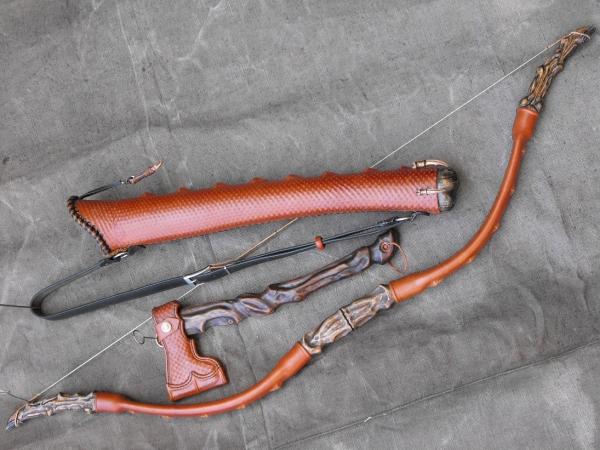 Как сделать лук из полипропиленовой трубы своими руками 82