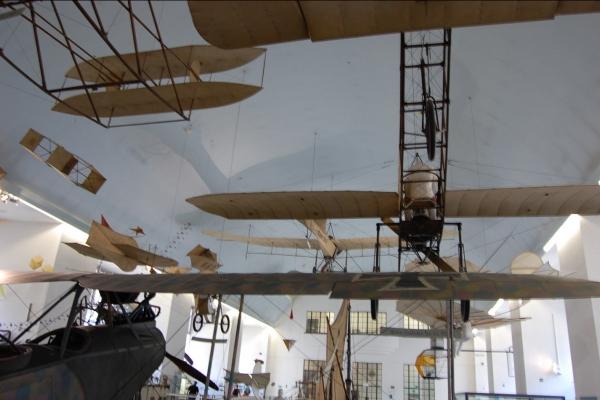 Deutsches Museum , история воздухоплавания. (Фото 14)