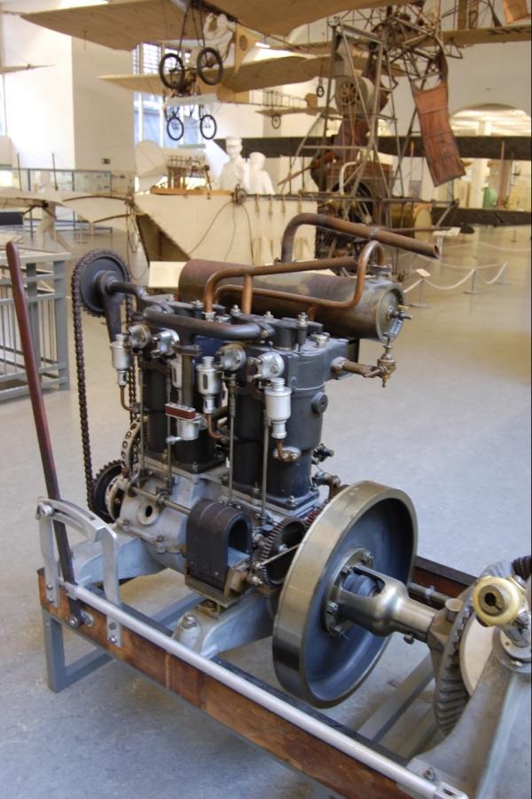 Deutsches Museum , история воздухоплавания. (Фото 6)
