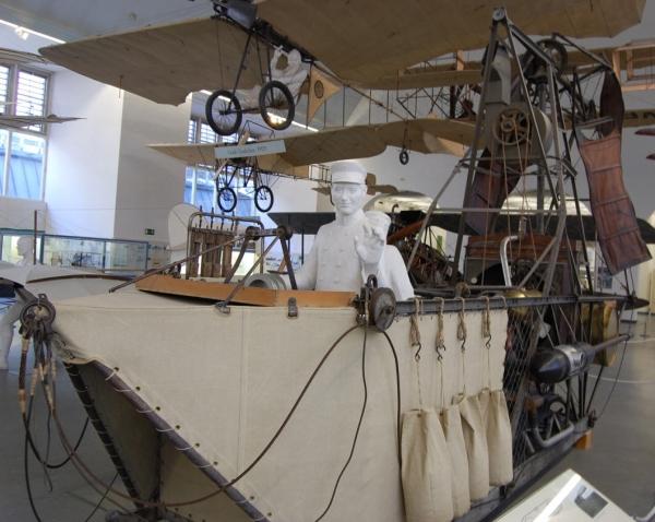 Deutsches Museum , история воздухоплавания. (Фото 2)