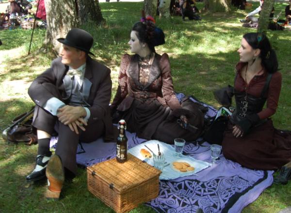 Викторианский пикник (Фото 24)