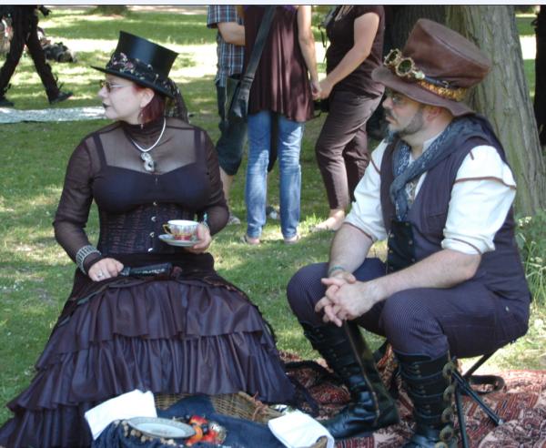 Викторианский пикник (Фото 25)